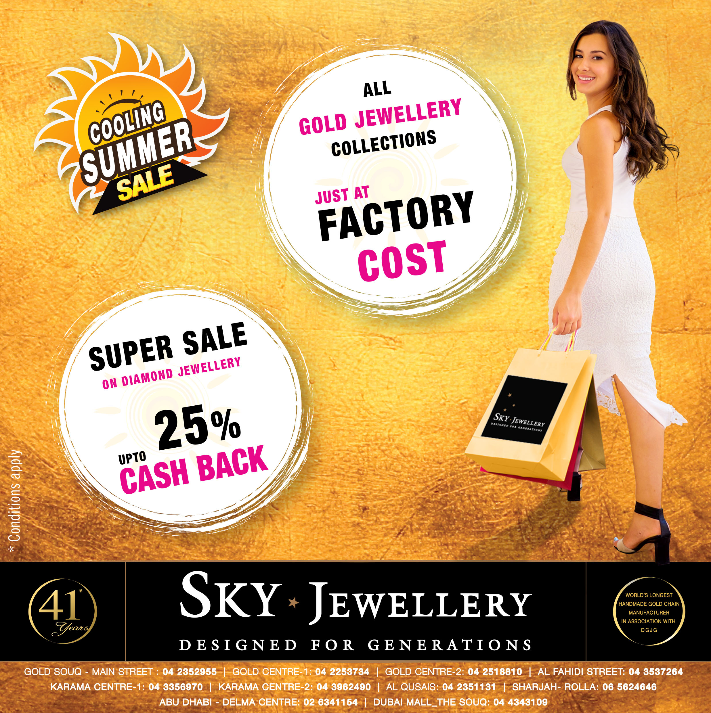 Summer Sale at Sky Jewellery! – Sky Jewellery   Designed for generations